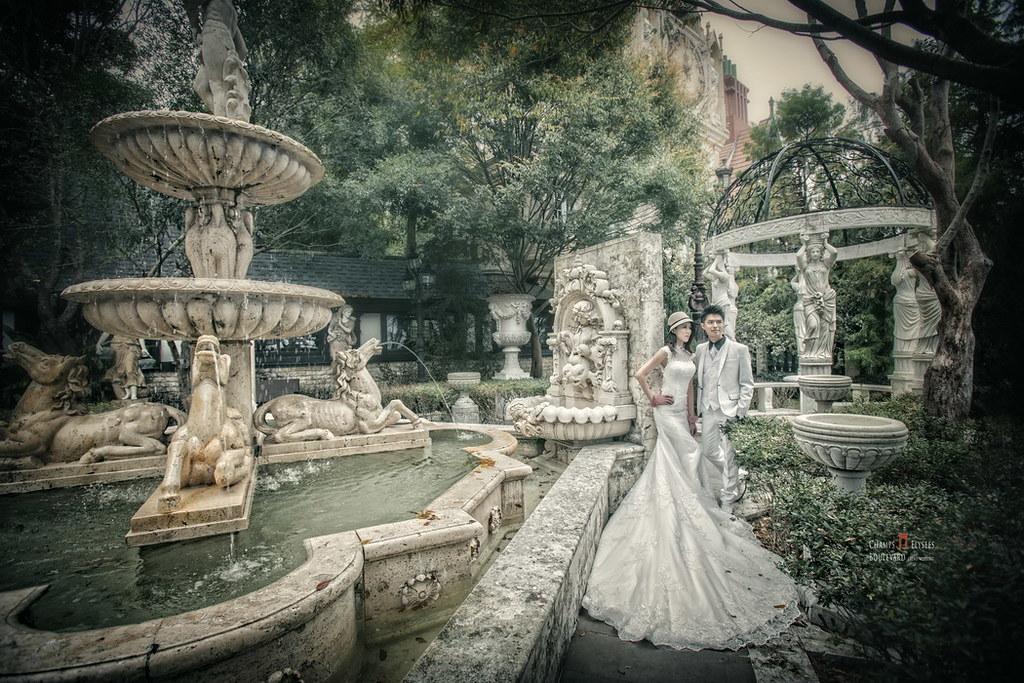老英格蘭莊園,忘憂森林,新人婚紗,婚紗攝影