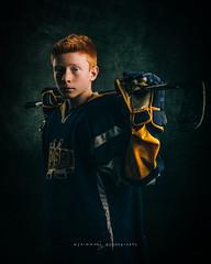 Fine Art Sports Portrait (seanajsimmons) Tags: sports portraits sportsportraits fineart hockey ajsimmons attitudesessions lighting colorgrading