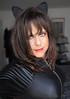 Well, here it is! (Irene Nyman) Tags: irene nyman dutch crossdresser holland cute brunette kitty pussy ears catsuit pvc latex cat