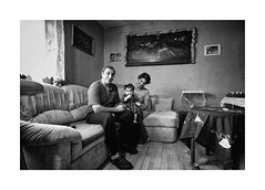 Grandparents (Jan Dobrovsky) Tags: bw biogon21mm contrast document grain grandparents gypsies indoor krásnálipa leicam monochrom monochrome