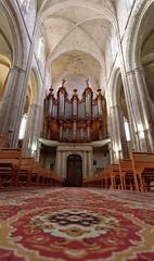 Saint Maximin (Denis 83) Tags: saintmaximin basilique nef orgues