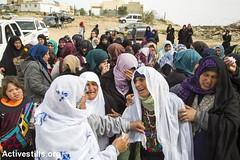 Funeral of Yaqub Musa Abu al-Qian, Negev, Israel, 24.01.2017 (Activestills) Tags: ummalhiran negev naqab death shahid martyr funeral israel policeviolence women unrecognisedvillage bedouins topimages kerenmanor