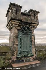 Edinburgh Castle (Japester68) Tags: 4star christmas scotland uk art building castle city day landmark monument outdoor pillar plinth sculpture statue trip
