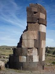 Chulpa at Sillustani (luciezr) Tags: chulpas peru sillustani titicaca