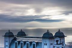 DSC_6772 (livin the dream*) Tags: penarthpier valeofglamorgan wales coast cymru sundaymorning sunrise wfc welshflickrcymru pier visitwales walescoast bristolchnanel clouds decking seascape
