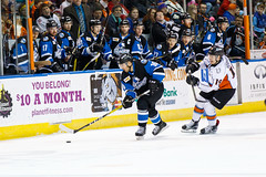 "Missouri Mavericks vs. Wichita Thunder, January 7, 2017, Silverstein Eye Centers Arena, Independence, Missouri.  Photo: John Howe / Howe Creative Photography • <a style=""font-size:0.8em;"" href=""http://www.flickr.com/photos/134016632@N02/31872461550/"" target=""_blank"">View on Flickr</a>"