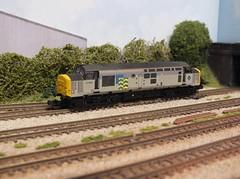 37668 (Anthony Sutton 37058) Tags: class 37668 cardiff canton trainload petroleum br british rail n gauge 2mm