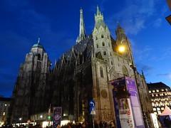 Wien, 1. Bezirk (the very art of Gothic church buildings of Vienna), Stephansdom, la chiesa di Santo Stefano, la Catedral de San Esteban de Viena, La Cathédrale Saint-Étienne, St. Stephen's Cathedral, Vienna, Katedra św. Szczepana w Wiedniu (Stephansplatz