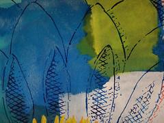 DSC0966902 (scott_waterman) Tags: ink watercolor gouache lotus lotusflower scottwaterman painting paper detail