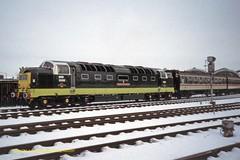 HULL 020197 D9000 (SIMON A W BEESTON) Tags: hull hertfordshirerailtours delticreunion 1z55 rsg royalscotsgrey d9000 deltic 55022 paragon