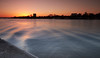 Antwerp on a cold winterday (grepe) Tags: antwerpen schelde cityscape water ~type ~waar ~wat waves blue orange