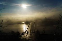 Magic time (KubaFej) Tags: sony a7s ii vario tessar 28704 prague fog sunset carl zeiss