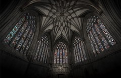 And then there was colour... (Rep001) Tags: wells cathedral thefivewindows lady chapel 7621