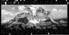 Drei Zinnen, xpan (Fabio Stoll) Tags: analog black white fomapan action 400 self developed kodak hc110 ishootfilm filmisnotdeat einfarbig hasselblad xpan ii outdoor lake waterfall camping landschaft abhang dolomiten drei zinnen monte cristallo feld