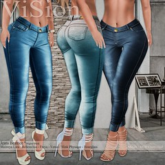 {ViSion} -S&F *Jeans Beatice @Mesh Body Addicts (pjey Pearl - {ViSion} -S&.F) Tags: jeans denim original fitted mesh maitreya belleza slinkphysique hourglass mba event