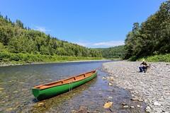 Rivière Assemetquagan (Note-ables by Lynn) Tags: riviereassemetquagan quebec matapediavalley canoe river