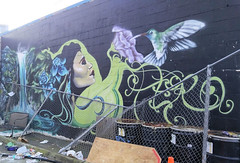 DA SPOT DEMO (Wil_i_am Murray) Tags: art hummingbird hookah lounge da spot denny triangle stewart street demolish gentrification amazoin seattle developement paradiso amazon endemicculturedying