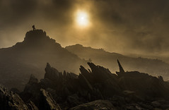 Glyder Mist (Nick Livesey Mountain Images) Tags: