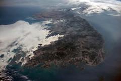 Korean Peninsula (sjrankin) Tags: haze edited korea iss koreanpeninsula 30may2015 iss043 iss043e256232
