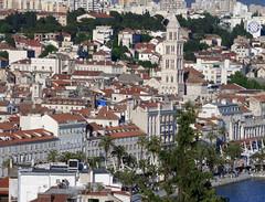 View of Split from Marjan Park (Devizes Lion) Tags: park croatia clocktower split marjan