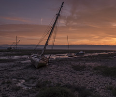 Heswall marsh (proleb) Tags: sunset fuji yacht marsh mudflats tidal heswall xt1 jeanpeters