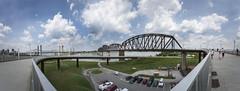Kentucky & Indiana Terminal Bridge (scott_scheetz) Tags: city bridge panorama skyline kentucky ky louisville jubilate summertour canon1dsmarkii canonef1635mmf28lusm kentuckyindianaterminalbridge adobephotoshopcs6 jubilatefestivalsingers