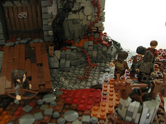 The Forbidden Castle (Halhi141) Tags: castle lego surreal medieval haunted fantasy goh lom moc