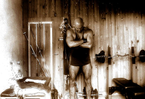 man home training gym weight
