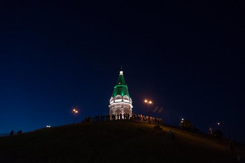 City Birthday of Krasnoyarsk (and Russia Day, June 12)