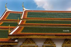 Phra Buddha Rattanasathan (LC_24) Tags: travel roof green tile thailand hall nikon bangkok royal tailandia grand palace tejado viajar d7100