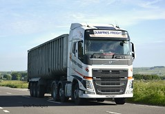 Volvo FH,Dumfries Freight (SJS Truck & Transport Photography.) Tags: volvo transport vehicles trucks wagons logistics commercials lorries haulage hgvs bulktippers dumfriesfreight