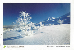 Hokkaido (lyzpostcard) Tags: japan hokkaido postcards douban directswap