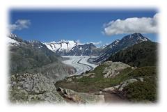 les bijoux s'encadrent (luka116) Tags: berg montagne alpes schweiz switzerland suisse swiss glacier svizzera paysage moutain wallis valais montagnes riederalp aletsch 2015 hohfluh mret