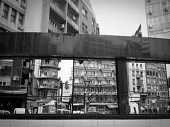Urban Collage /Urbani kola (valter.fuego) Tags: street urban blackandwhite phonecam belgrade