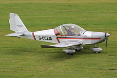 G-CCEM (QSY on-route) Tags: city manchester airport barton egcb gccem 31072015
