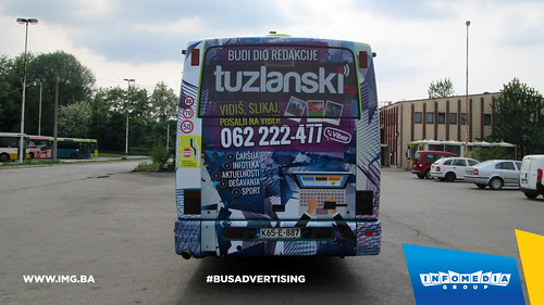 Info Media Group - Tuzlanski.ba, BUS Outdoor Advertising, Tuzla 05-2015 (3)
