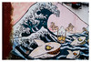 La Gran Ola de Hokusai en El Cabanyal (Lanpernas .) Tags: muro valencia pared paint grafiti playa hokusai barrio pintada tiburones cabanyal especulación grafito laola corrupción gentrificación