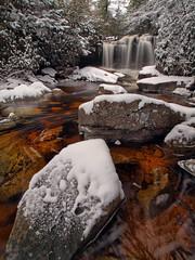Big Fun At Big Run (Bill Fultz) Tags: bigrun monongahelanationalforest westvirginiawaterfall tuckercounty westvirginia waterfall tanin winter snow cold