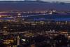 SF Skyline 1-1-2017 (lycheng99) Tags: sfbayarea sf sfskyline sfbaybridge howsfseessf sanfrancisco sanfranciscobayarea sanfranciscotravel sanfranciscobridges sanfranciscoskyline lights dusk sunset bay campanile sky skyline lawrencehallofscience berkeley berkeleyhills california coast longexposure