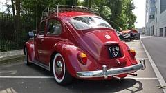 Volkswagen 1200 (sjoerd.wijsman) Tags: zuidholland holanda olanda holland niederlande nederland thenetherlands netherlands paysbas carspot carspotting cars car voiture fahrzeug auto autos redcars red rot rood rouge volkswagen vw 9441gp sidecode2 onk cwodlp