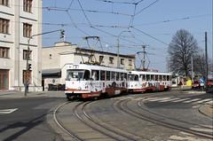 Tatra T3M 61 by Rikard Ågren - Tatra T3M nr. 61 on line 2 at the railway station in Liberec.