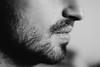 (ritabenacci) Tags: profilo mento barba biancoenero blackandwhite bocca lips labbra uomo man