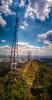 Pico do Jaraguá (rvcroffi) Tags: picodojaraguá antena antenna sãopaulo brasil paisagem vertical landscape nuvens clouds hdr ensolarado sunny montanha mountain alto topo top city cityscape