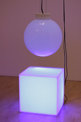 The Box and The Ball (T3MPL3) Tags: ryan gander night museum birmingham art gallery canon 70d 50mm indoor interior exhibition city uk england bham