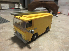 WIP Dodge A100 Van (CrispyBassist) Tags: lego wip moc