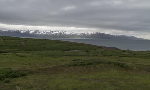 View over Skjálfandi, 15.07.2016.