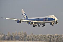 AirBridgeCargo VQ-BRH, OSL ENGM Gardermoen (Inger Bjørndal Foss) Tags: vqbrh airbridgecargo boeing cargo 747 7478 osl engm norway gardermoen