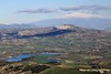 Sicily from the center to the East: a lake, a town, a volcano (piero.mammino) Tags: sicilia sicily etna vulcano volcano neve snow paese collina valle town agira hill valley calascibetta lago lake paesaggio landscape