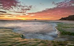 Back Beach | Portsea (Jake Richardson Photography) Tags: portsea london bridge water sunset colours long exposure mornington peninsula reflection victoria clouds nikon d610 le
