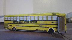 X270 - North Hills School District Bus 336 (Etienne Luu) Tags: first student inc thomas built buses saftliner saf t liner hdx paper cardstock model bus school